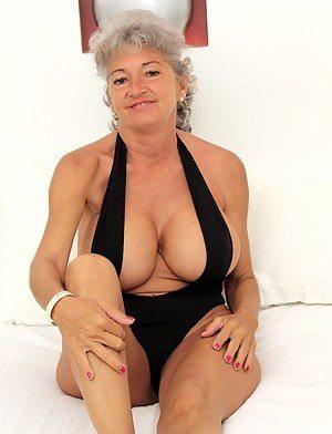 Tits granny fake Fake tits
