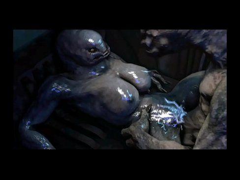 Sexy alien nackt