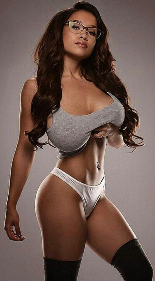 Hot large breast small waist sex