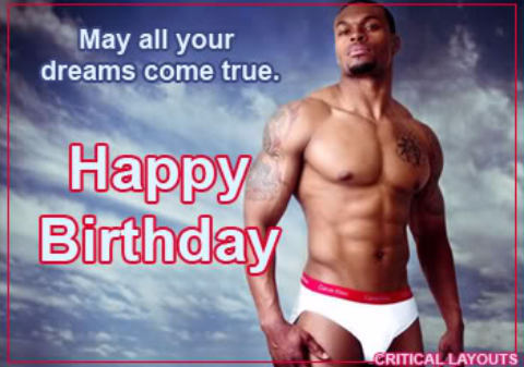 Naked Male Birthday Card - Paylin Porno