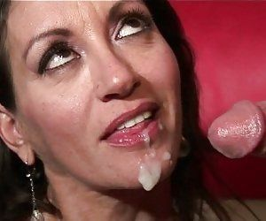 Mature sperm porn