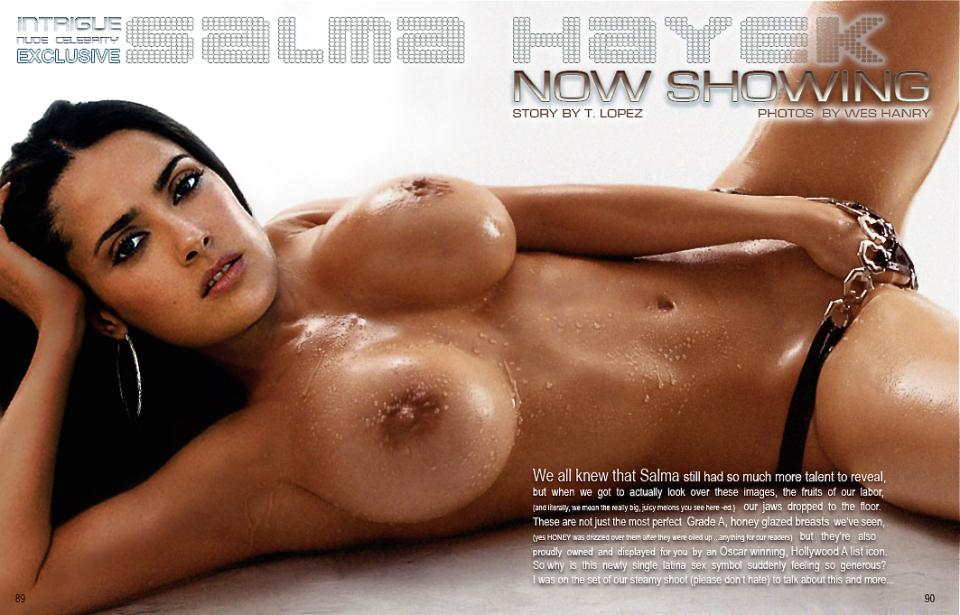 Blowjob salma hayek *LEAKED* Salma