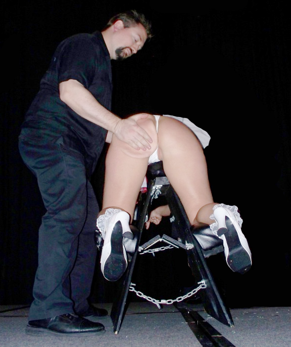 Spank bare bottom discipline