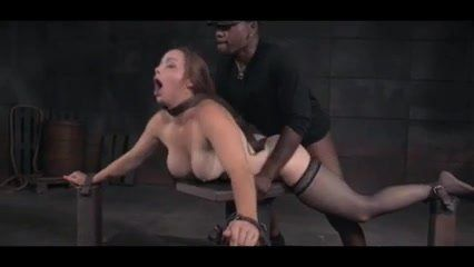 Bound woman beingg fucked
