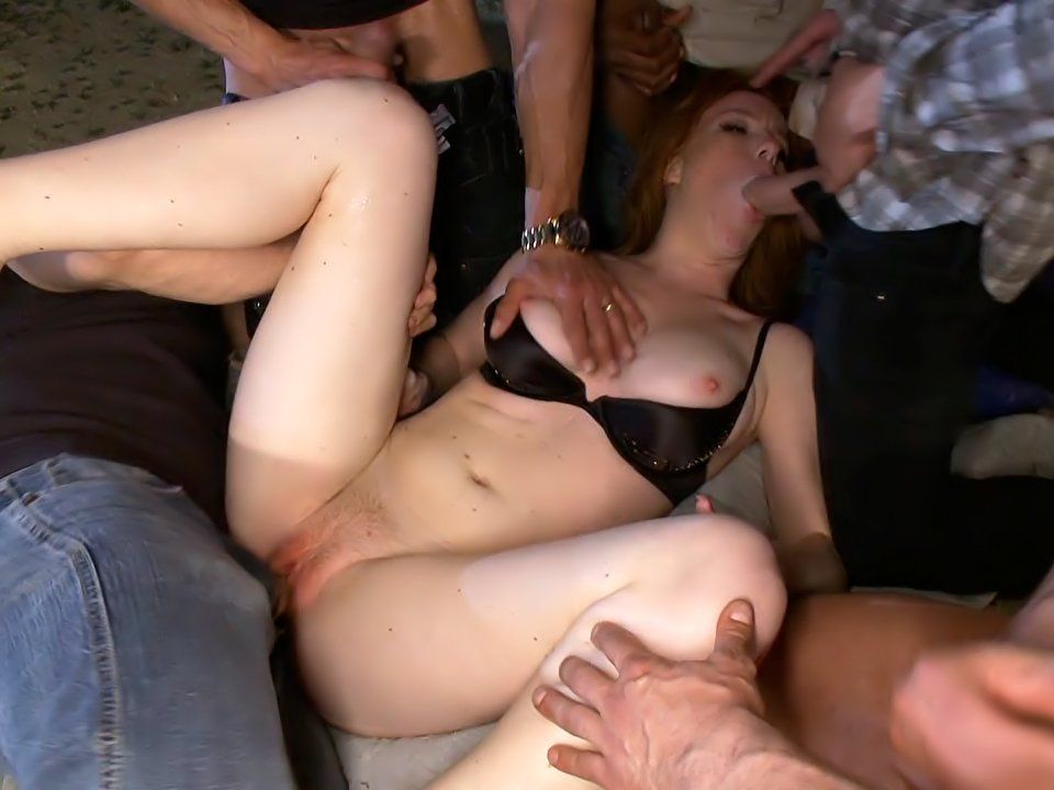 Baby D. reccomend Gangbang redhead pictures