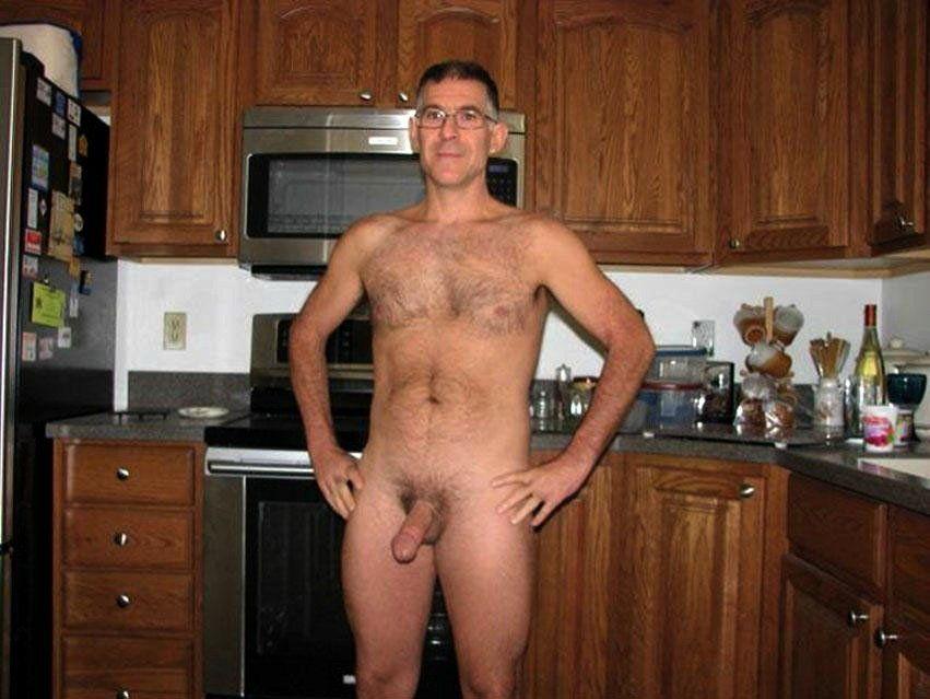 Mature men naked Silver Sugar
