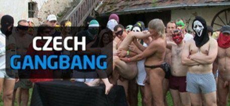 best of Gangbang wife czech