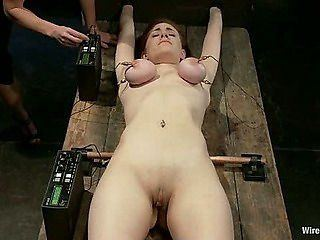 Bdsm slut lick dick and interracial