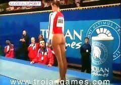 Hot mature gymnast