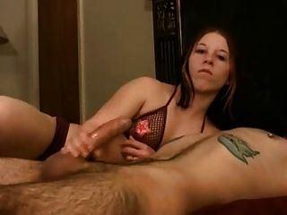 Tickling topless