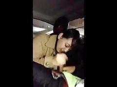 Japanese blowjob car