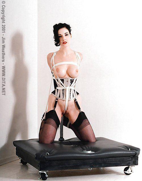 Dita von teese bondage pictures
