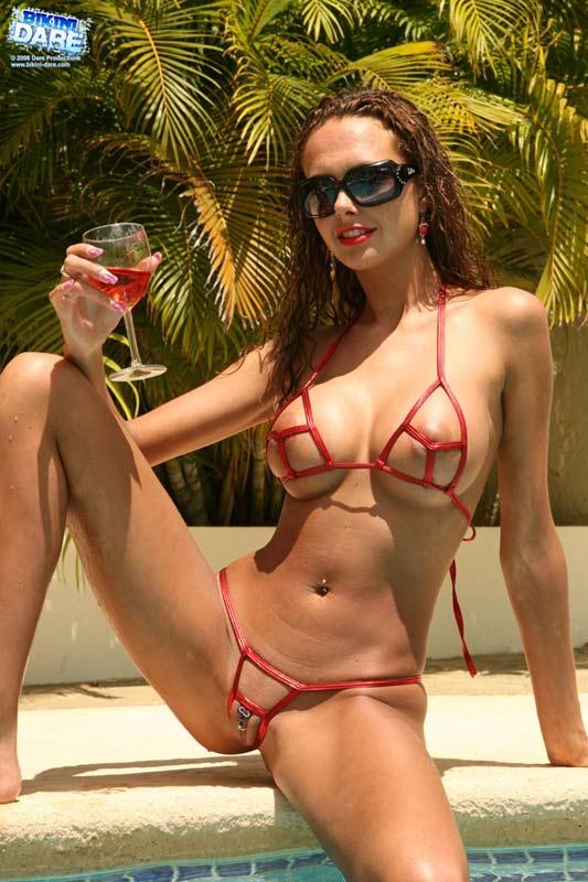 Ladybird recomended public bikini dare