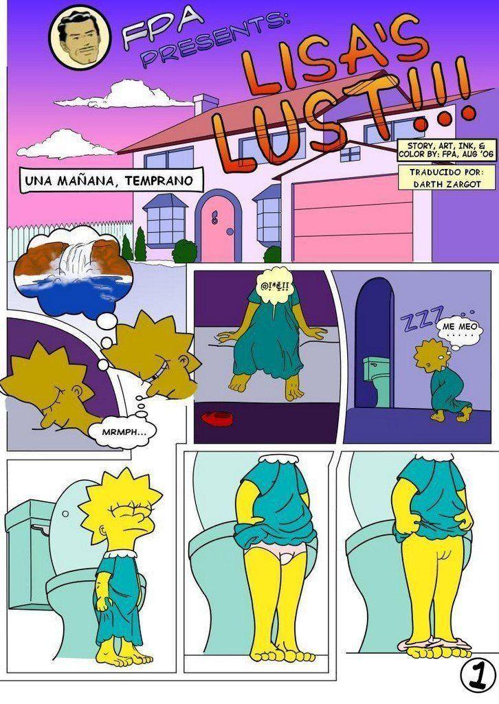 Porno bart simpsons Simpsons Sex