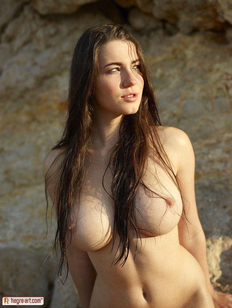 best of Big brown tits hair