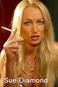 Diana doll smoking