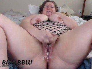 Fat girls using dildos