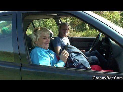 Chuck reccomend granny hitchhiker
