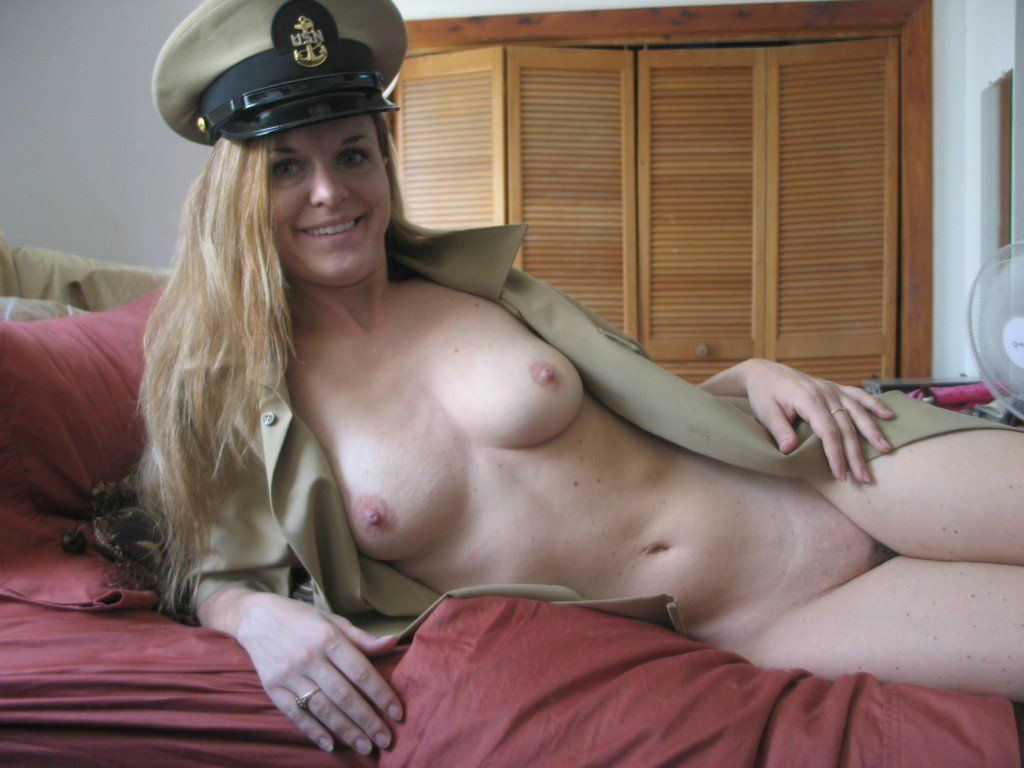Naked military wife Military